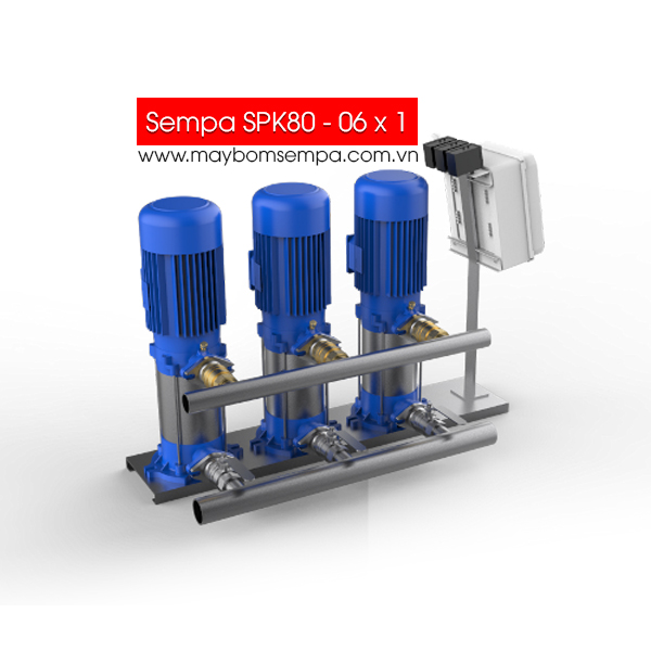 Máy bơm bù áp Sempa SPK80 - 06 x 1