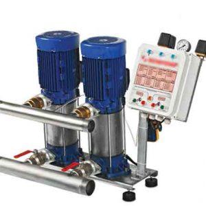 Máy bơm ly tâm trục đứng (tăng áp) Sempa SPL 100 - 07 x 2