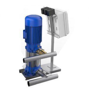 Máy bơm nước trục thẳng đứng Sempa SPL - A 50 - 10 x 3