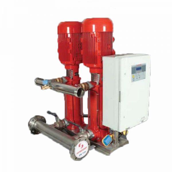 Máy bơm nước tăng áp Sempa SPL - C 50 - 08 x 2